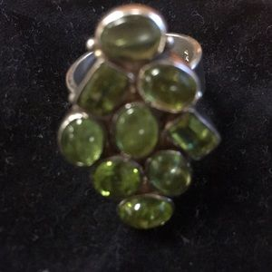 Jewelry - 925 Sterling Silver Peridot Ring